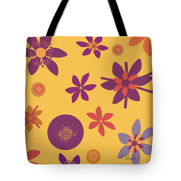 Fragrant Folly Orange Tote Bag by Ruth Palmer