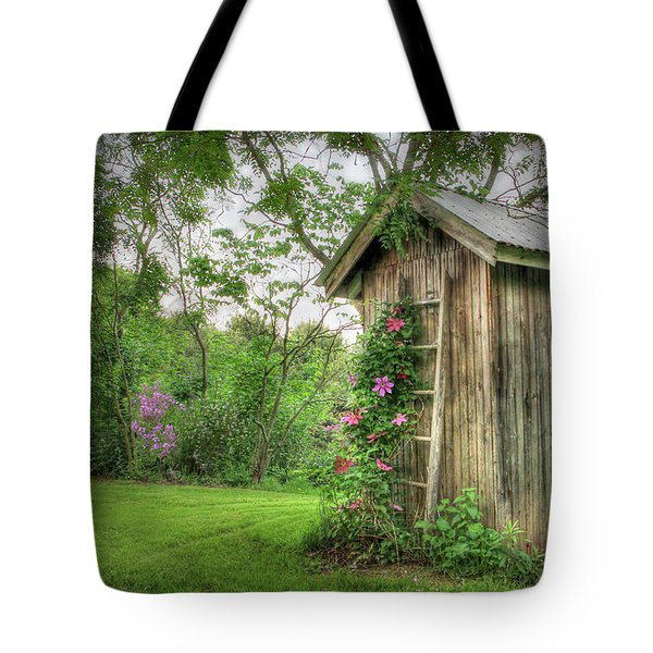 Fragrant Outhouse Tote Bag