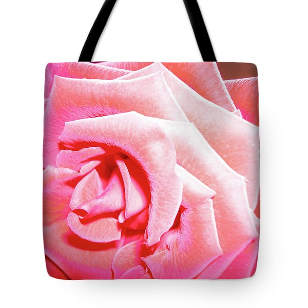 Tote Bag featuring the photograph Fragrant Rose by Marie Hicks