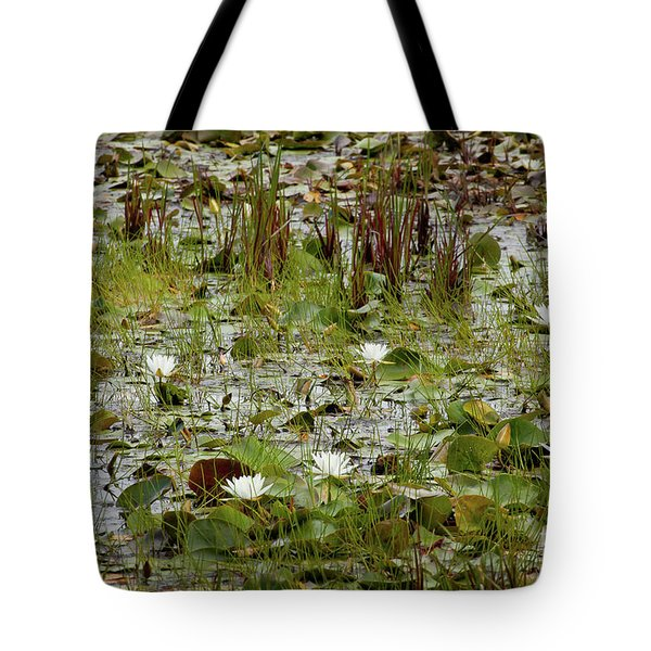 Tote Bag featuring the photograph Fragrant White by Susan Cole Kelly