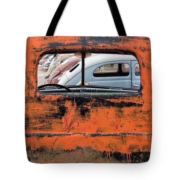 Framed Antiques Tote Bag