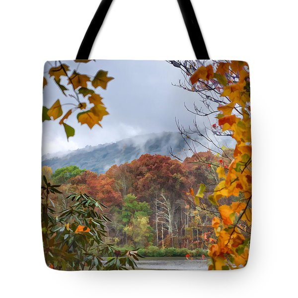 Framed By Fall Tote Bag
