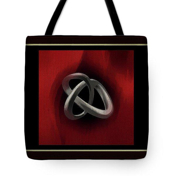 Framed Chrome Tote Bag