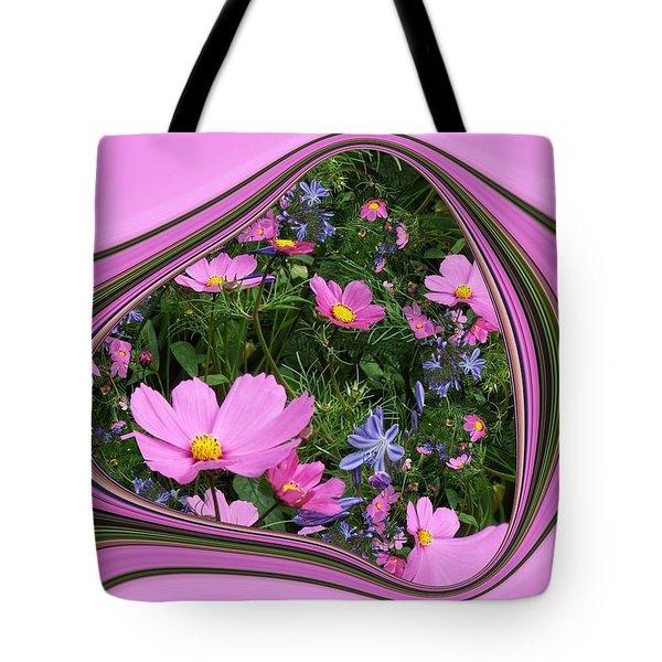 Framed Cosmos Tote Bag