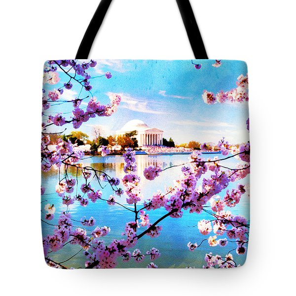 Tote Bag featuring the photograph Framed  by Edward Kreis