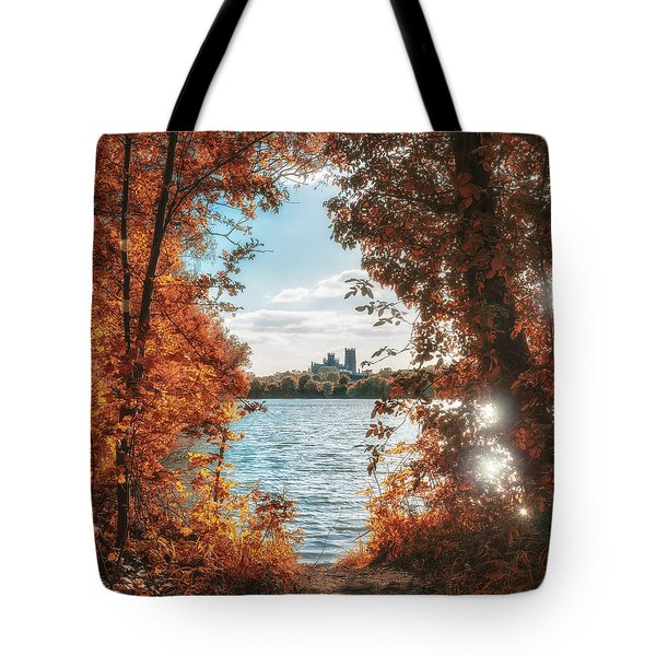 Tote Bag featuring the photograph Framed by James Billings