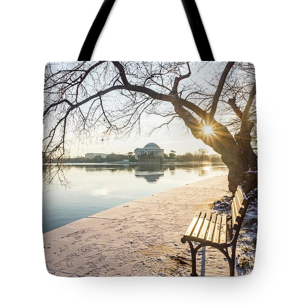 Framed Jefferson Tote Bag