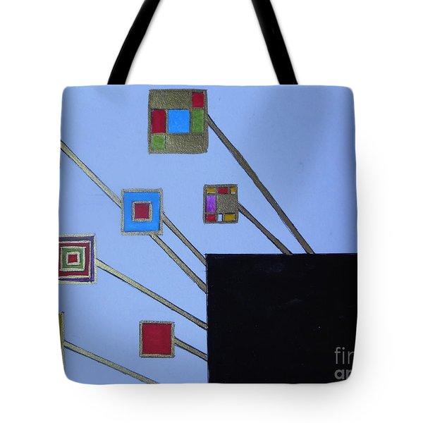 Framed World Tote Bag
