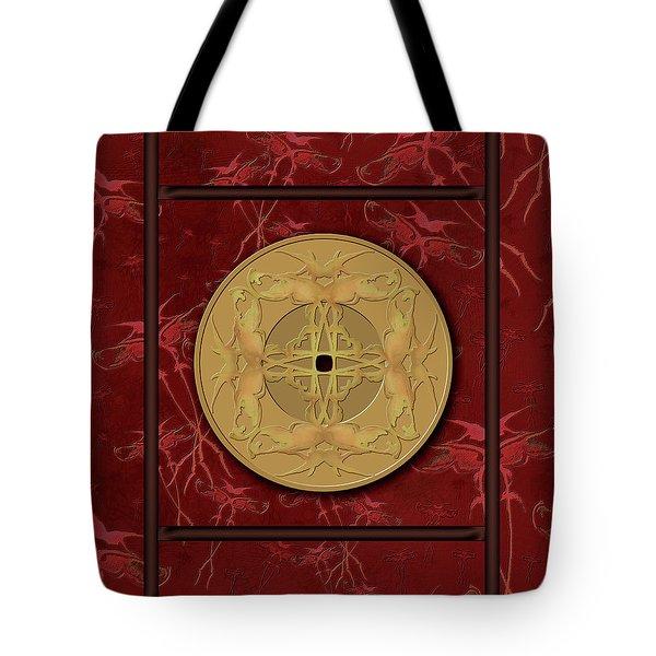 Framed Zenfly Bi Coin Tote Bag