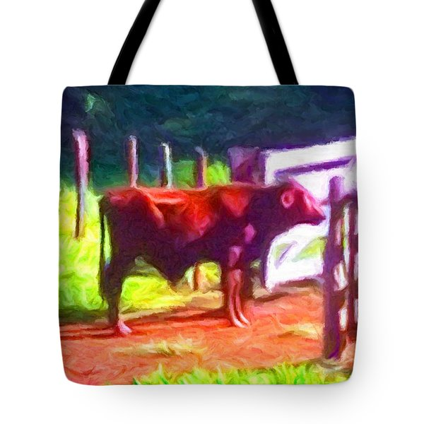 Franca Cattle 2 Tote Bag