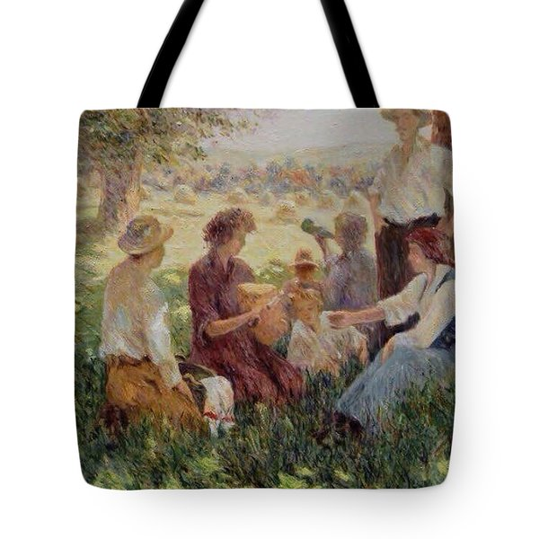 France Country Life  Tote Bag by Pierre Van Dijk