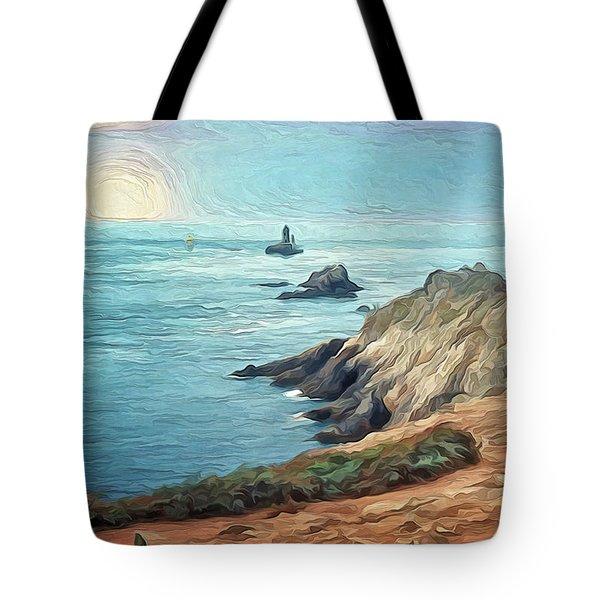 France - La Pointe Du Raz Tote Bag