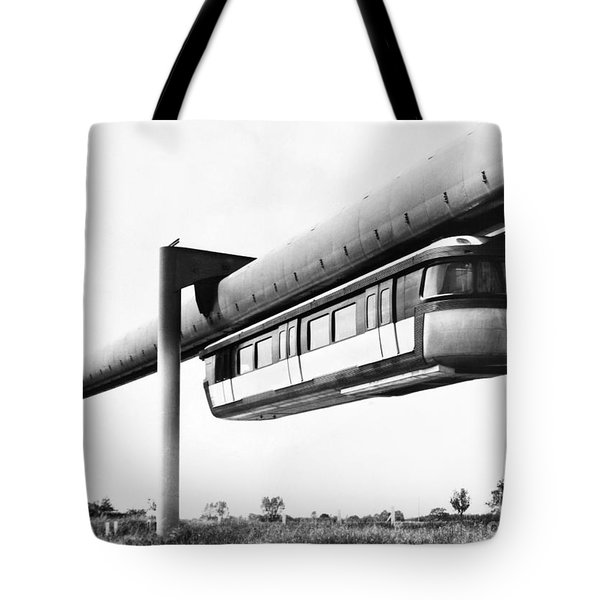 France: Monorail, 1950s Tote Bag