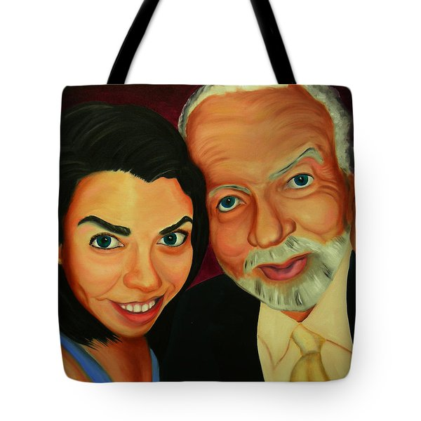 Frances And Angelo Tote Bag