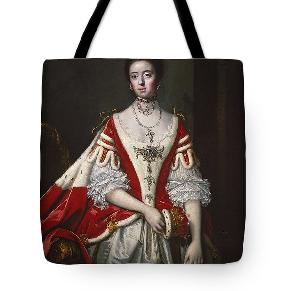 Frances, Countess Of Dartmouth Tote Bag