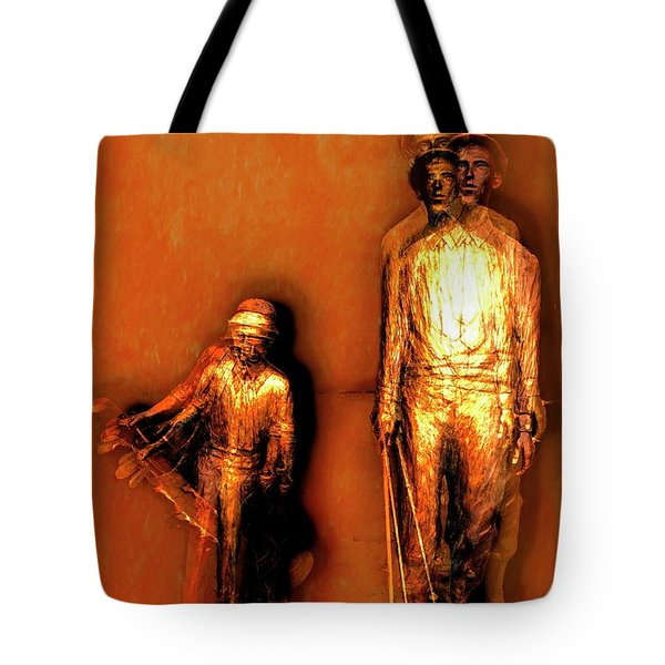 Francis D. Ouimet And Caddy Tote Bag