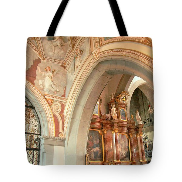 Franciscan Decor Tote Bag