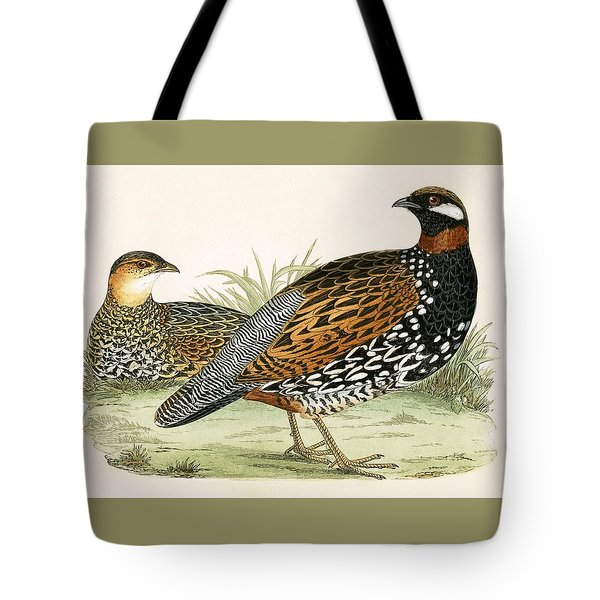 Francolin Tote Bag by English School