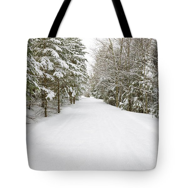 Franconia Bike Path - Franconia Notch New Hampshire Usa Tote Bag
