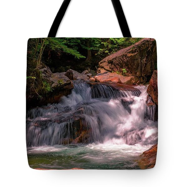 Franconia Notch 2 Tote Bag by Sherman Perry
