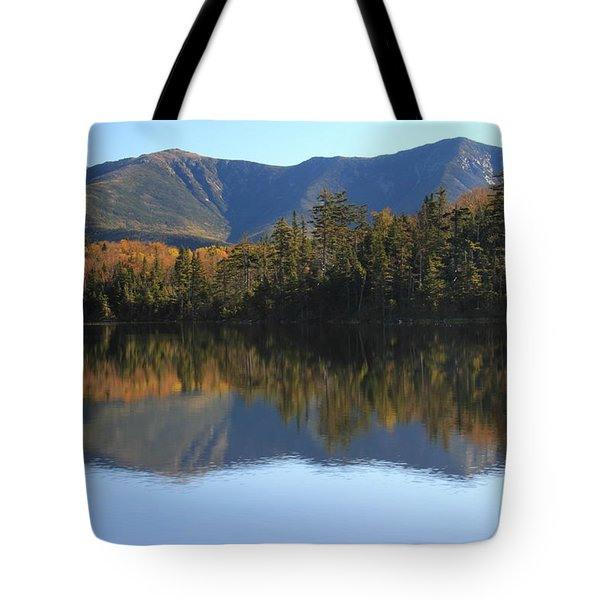 Franconia Ridge From Lonesome Lake Tote Bag by Roupen  Baker