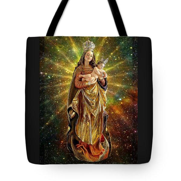 Franconian Madonna And Infant Jesus Tote Bag