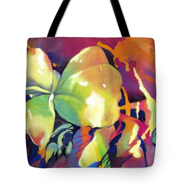 Frangipani Fantasy Tote Bag
