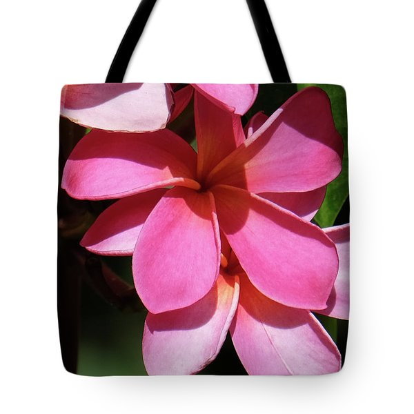 Frangipani Tote Bag by Mini Arora