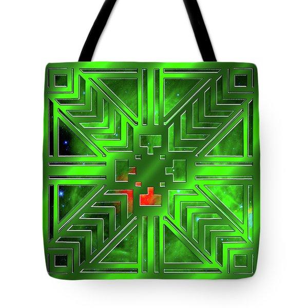 Frank Lloyd Wright Design Tote Bag