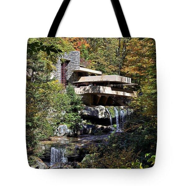 Frank Lloyd Wrights Fallingwater Tote Bag