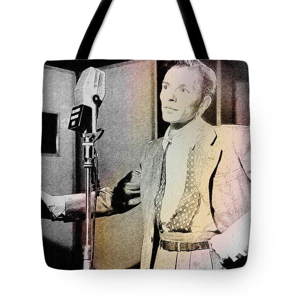 Frank Sinatra 1947 Tote Bag by Ericamaxine Price