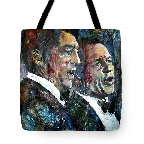 Frank Sinatra And Dean Martin Tote Bag 353af73c06514