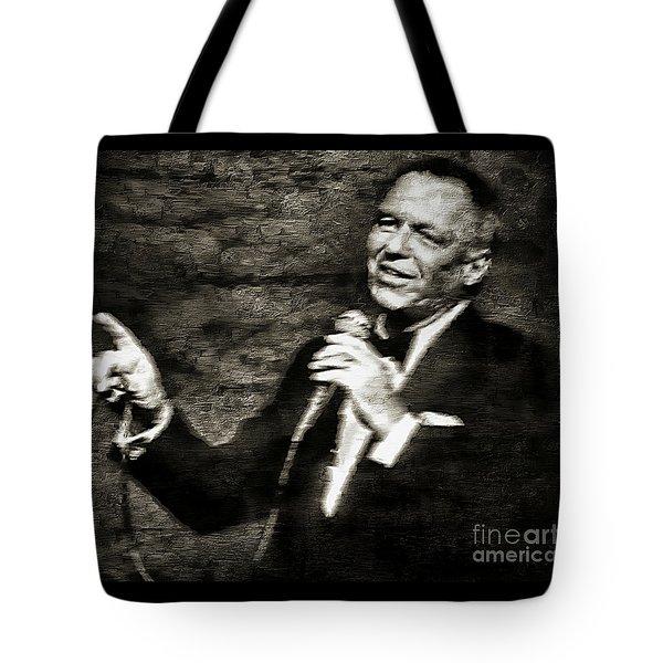 Frank Sinatra -  Tote Bag