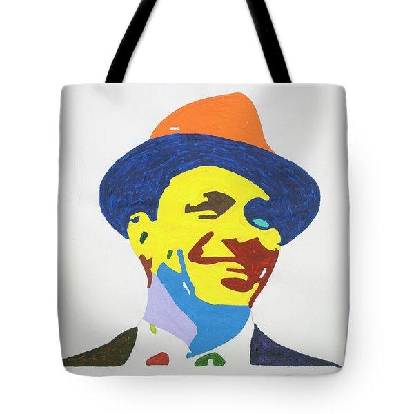 Frank Sinatra Smile Tote Bag