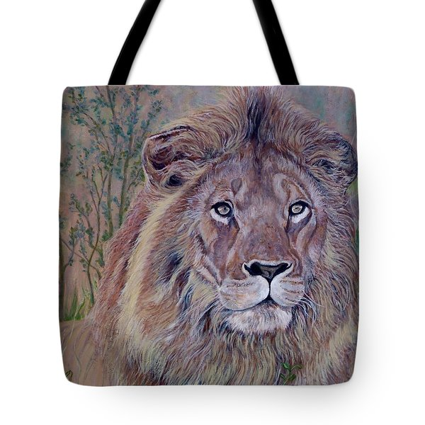Tote Bag featuring the painting Frank by Tom Roderick