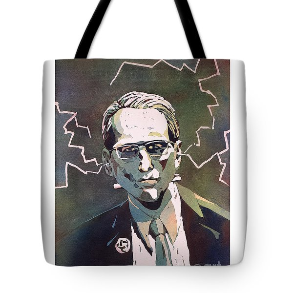 Tote Bag featuring the painting Frankencrory by Ryan Fox