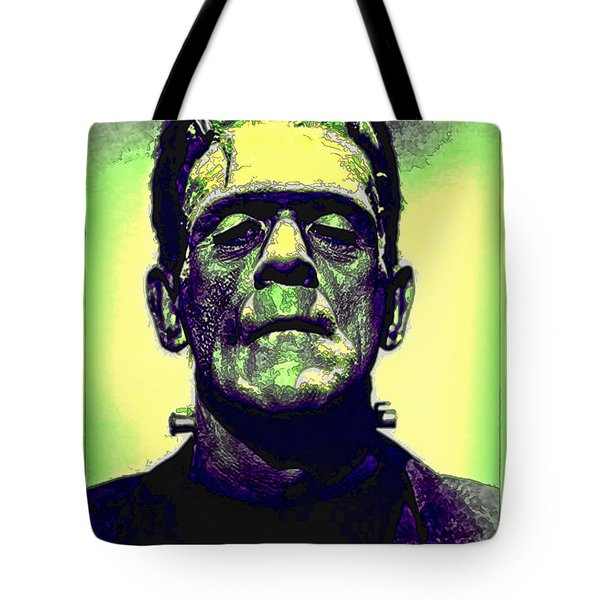 Frankenstein In Color Tote Bag