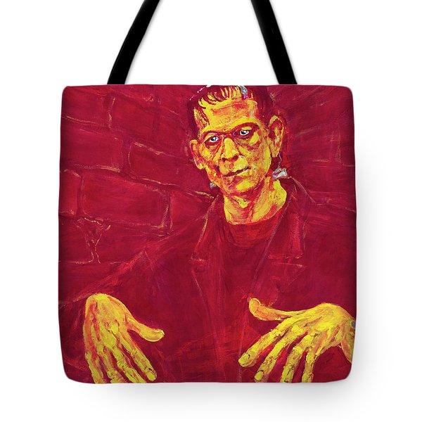 Frankenstein's Monster 1931 Tote Bag