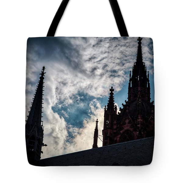 Frankfurt Cathedral Tote Bag