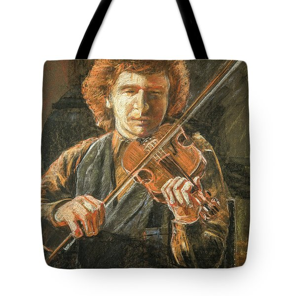 Frankie Gavin Tote Bag by Marty Garland