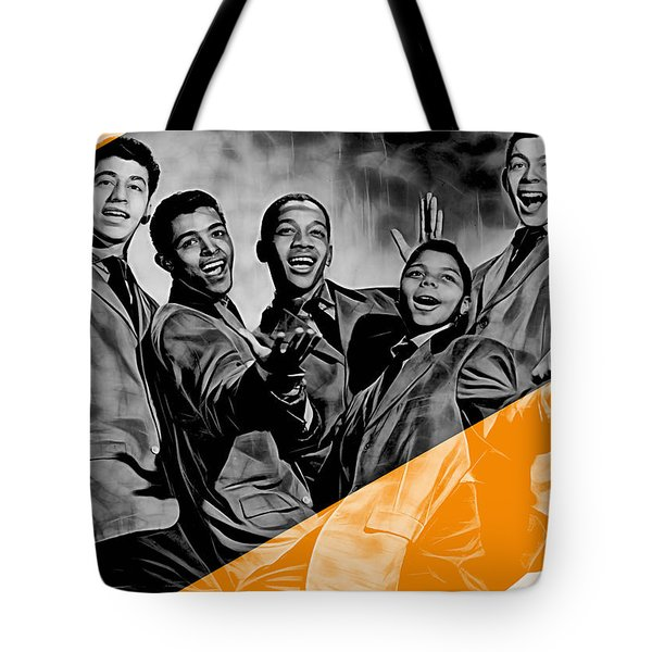 Frankie Lymon Collection Tote Bag