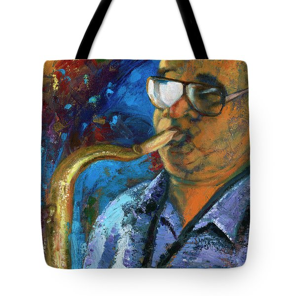 Frankie Scott-extempore Tote Bag
