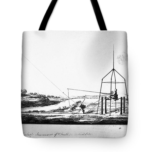 Franklin: Kite, 1788 Tote Bag by Granger