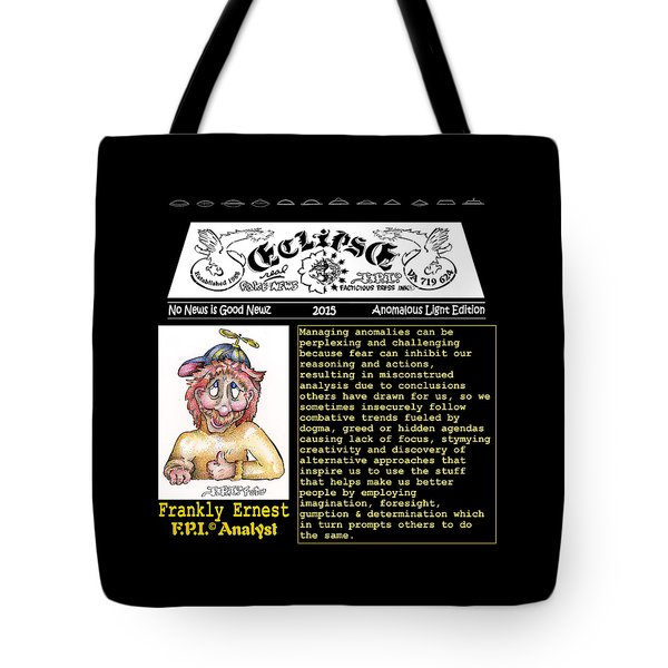 Real Fake News Analyst 1 Tote Bag