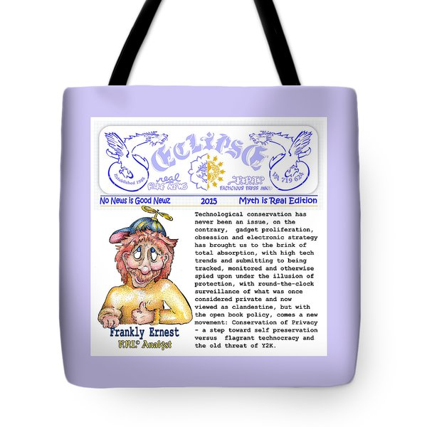 Real Fake News Analyst Tote Bag