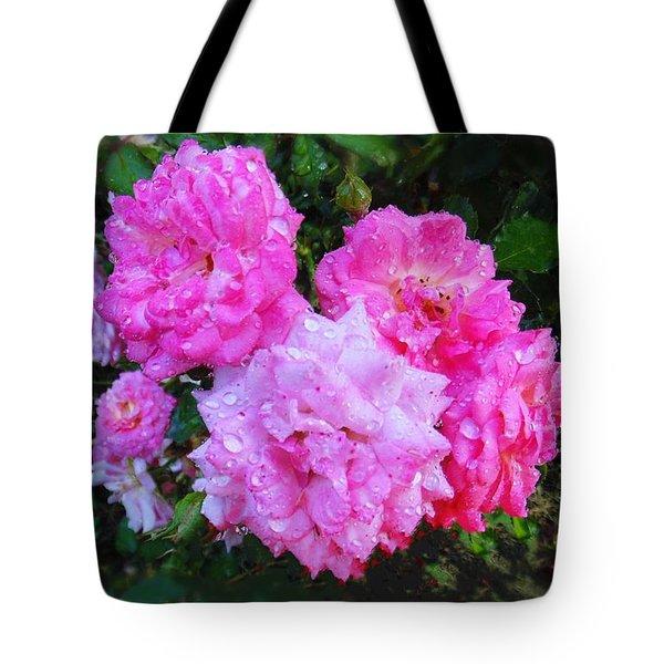 Frank's Roses Tote Bag