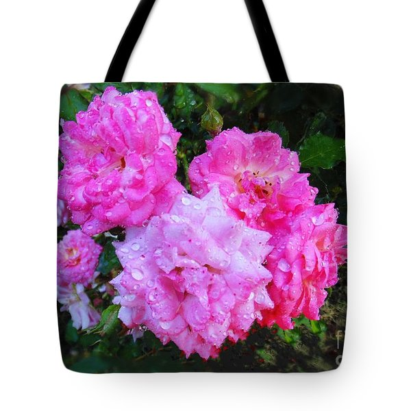 Frank's Roses Tote Bag by MaryLee Parker