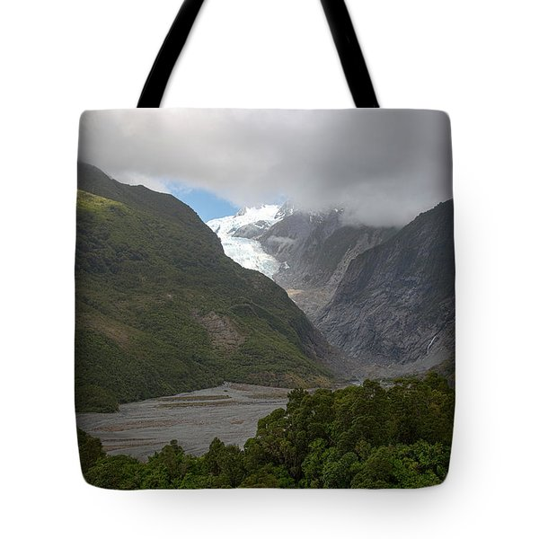 Tote Bag featuring the photograph Franz Josef Glacier  by Cheryl Strahl
