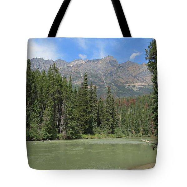 Fraser River Tote Bag