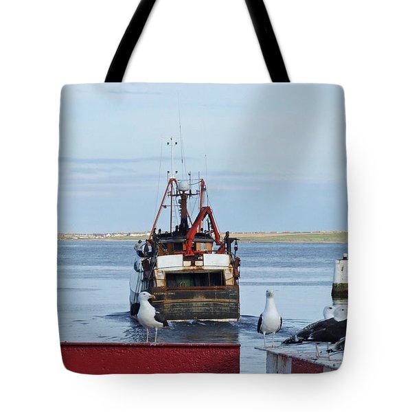 Fraserburgh - The Departure Tote Bag